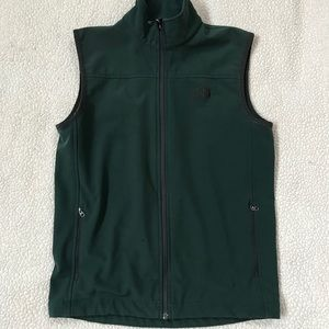 Hunter Green NORTH FACE Polartec Vest Size S
